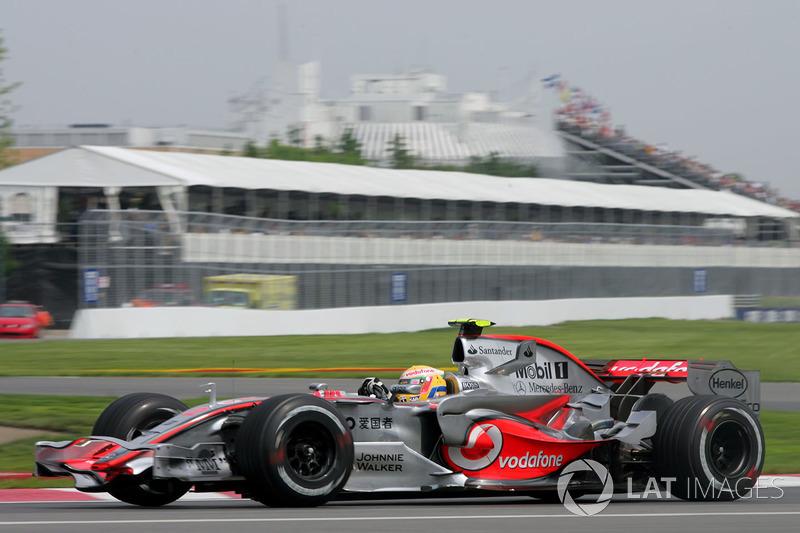 Хэмилтон делит с Шумахером первое место по количеству поулов в Монреале – оба по шесть раз выигрывали квалификацию в Канаде