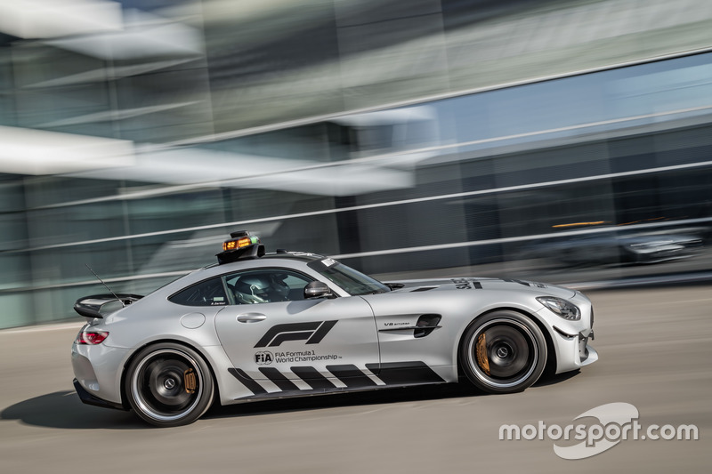 Mercedes-AMG GT R, Safety Car oficial da F1 2018