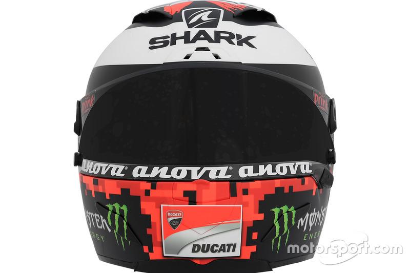 Casco de Jorge Lorenzo, Ducati Team