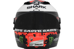 De helm van Jorge Lorenzo, Ducati Team