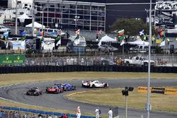 #7 Acura Team Penske Acura DPi, P: Helio Castroneves, Ricky Taylor, Graham Rahal, #90 Spirit of Daytona Racing Cadillac DPi, P: Tristan Vautier, Matt McMurry, Eddie Cheever III