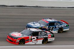 Austin Dillon, Richard Childress Racing Chevrolet and Brennan Poole, Chip Ganassi Racing Chevrolet