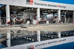 Zona del equipo Toyota Racing