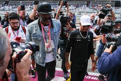 Usain Bolt, Lewis Hamilton, Mercedes AMG F1