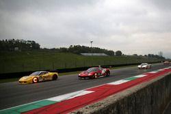 #622 Lueg Sportivo Ferrari 458: Holger Harmsen, #19 Baron Service Ferrari 488: Per Nielsen