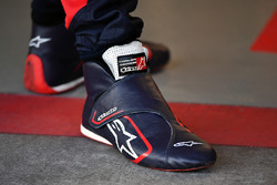 Chaussures de Brendon Hartley, Scuderia Toro Rosso