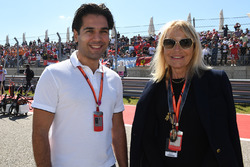 Arif Rahimov, Baku Street Circuit Promoter and Katja Heim, KHP Promotion