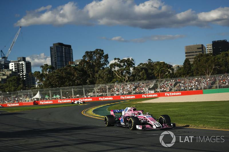 """12e Esteban Ocon: """"Situatie kan in de F1 snel veranderen"""""""