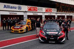 Tiago Monteiro, Boutsen Ginion Racing Honda Civic Type R TCR, Tom Coronel, Boutsen Ginion Racing Hon