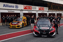 Tiago Monteiro, Boutsen Ginion Racing Honda Civic Type R TCR, Tom Coronel, Boutsen Ginion Racing Hon