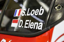 Car detail of Sébastien Loeb , Daniel Elena, Citroën World Rally Team Citroën C3 WRC