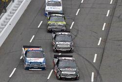 Noah Gragson, Kyle Busch Motorsports, Toyota Tundra Safelite, Myatt Snider, ThorSport Racing, Ford F