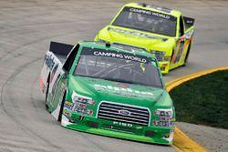 Ben Rhodes, ThorSport Racing, Ford F-150 and Matt Crafton, ThorSport Racing, Ford F-150 Ideal Door/M