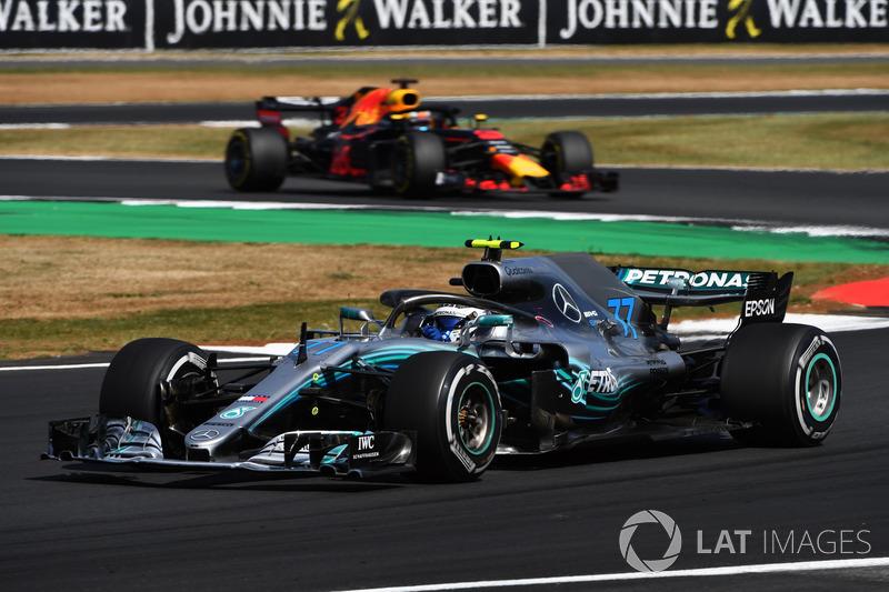 P4: Valtteri Bottas, Mercedes-AMG F1 W09