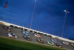 Brad Keselowski, Team Penske, Ford Fusion Stars, Stripes, and Lites William Byron, Hendrick Motorsports, Chevrolet Camaro Liberty University