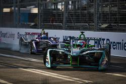 Nelson Piquet Jr., Jaguar Racing, Sam Bird, DS Virgin Racing