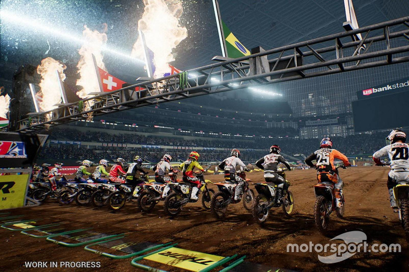 Monster Energy Supercross - El videojuego oficial