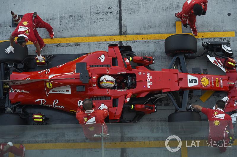 Себастьян Феттель, Ferrari SF70H, 2017 год