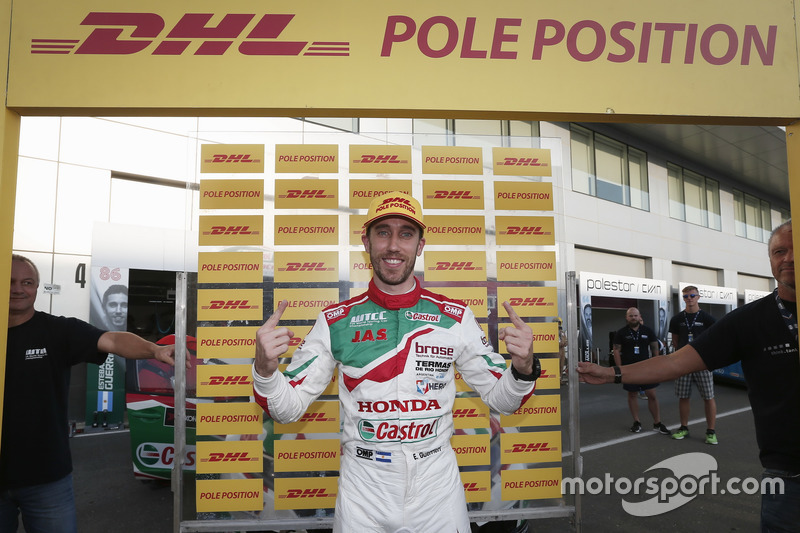 Pole: Esteban Guerrieri, Honda Racing Team JAS, Honda Civic WTCC