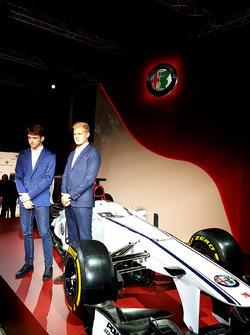 Marcus Ericsson e Charles Leclerc, Sauber