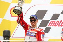 Podio secondo, Jorge Lorenzo, Ducati Team