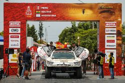 #355 SsangYong Tivoli DKR: Óscar Fuertes, Diego Vallejo