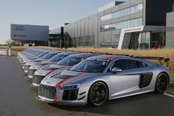 Delivery of Audi R8 LMS GT4