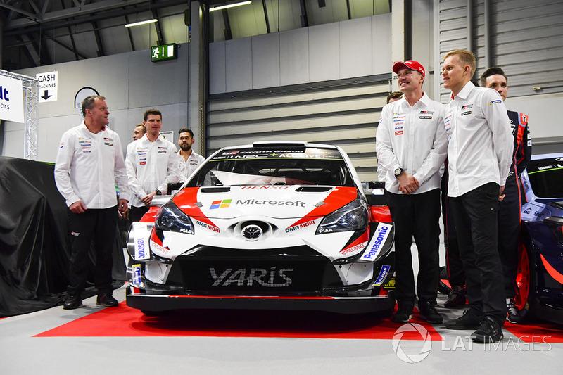 Présentation de la Toyota Yaris WRC 2018