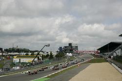 Start zum GP Deutschland 2009 auf dem Nürburgring