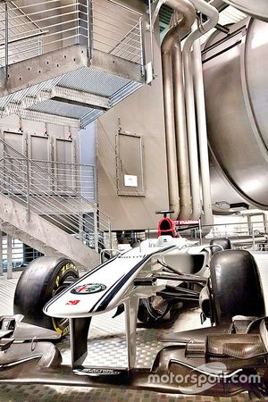 Windtunnel van Sauber