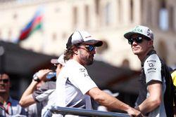 Fernando Alonso, McLaren, Nico Hülkenberg, Force India