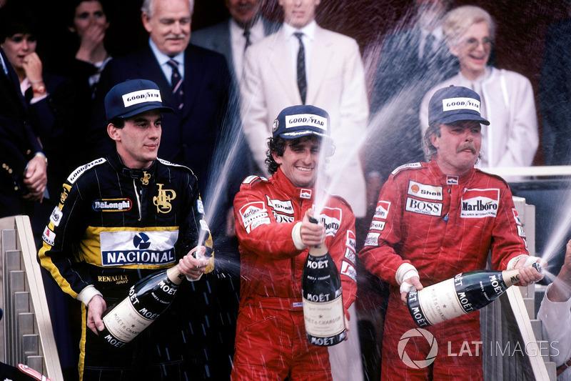 GP de Mónaco 1986