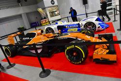 McLaren en Robocar tentoongesteld