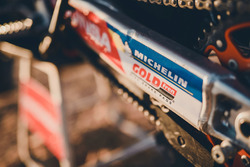 Michelin logo on the KTM 450 Rally, Himoinsa Racing Team