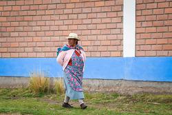 Des fans péruviens