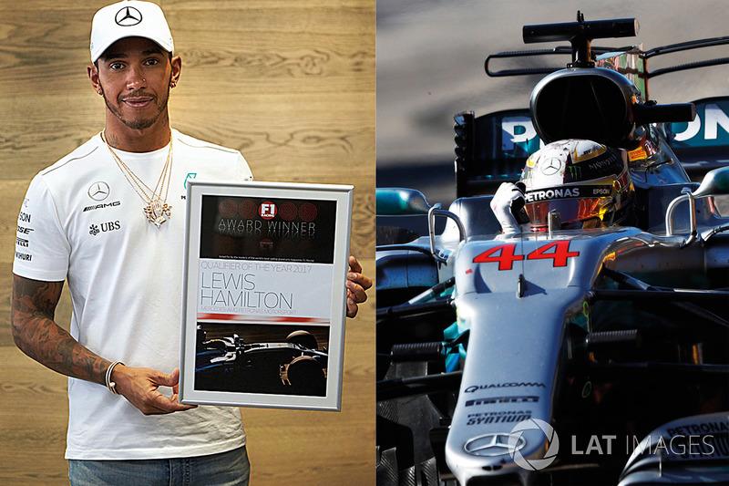 Lewis Hamilton, Mercedes AMG F1, Calificador del año 2017