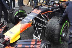Red Bull Racing RB14, sospensione anteriore