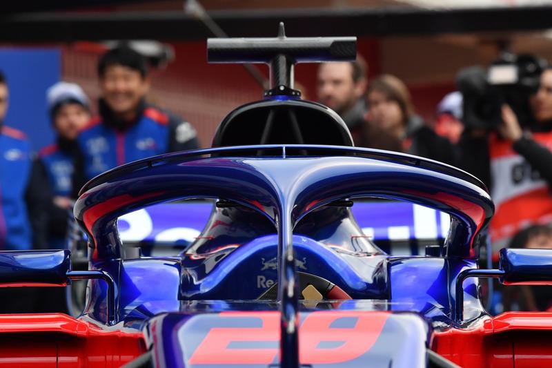 Halo del Scuderia Toro Rosso STR13