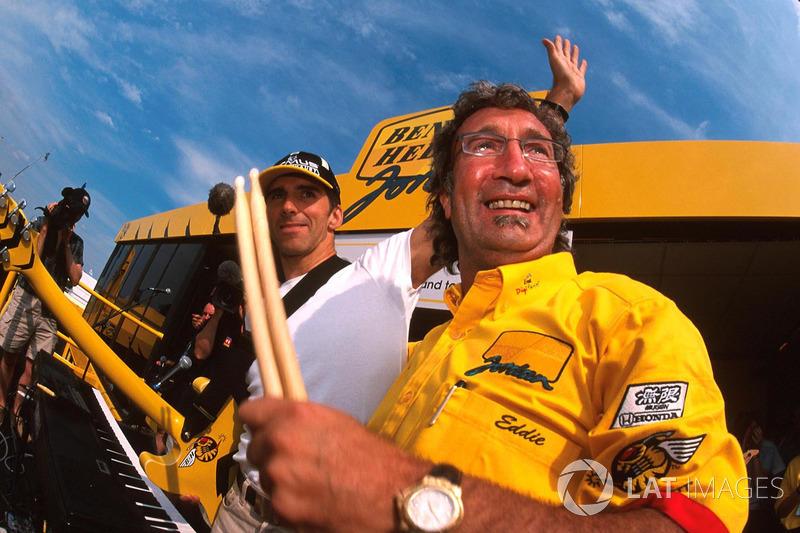 Damon Hill, Eddie Jordan