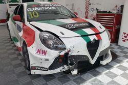 Gianni Morbidelli, Alfa Romeo Giulietta TCR, Team Mulsanne Romeo Ferraris