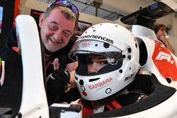 F1 Experiences 2-Seater passenger Barbara Palvin with Paul Stoddart