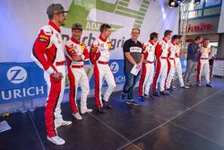 #30 Frikadelli Racing Team Porsche 911 GT3R: Lance David Arnold, Alexander Müller, Wolf Henzler, Matt Campbell; #31 Frikadelli Racing Team Porsche 911 GT3R: Norbert Siedler, Marco Seefried, Felipe Fernández Laser, Mathieu Jaminet