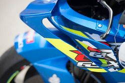 Team Suzuki MotoGP wings detail