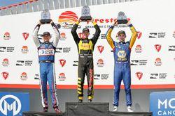 Podium: ganador, Sébastien Bourdais, Dale Coyne Racing with Vasser-Sullivan Honda, segundo, Graham R