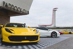 Ferrari nel paddock