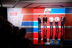 Francesco Guidotti, Davide Camicioli, Paolo Ciabatti, Gigi Dall'Igna, Sandro Donato Grosso
