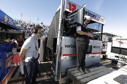Ricky Taylor, Roger Penske, Will Power, Team Penske Chevrolet