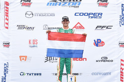 Race winner Rinus van Kalmthout