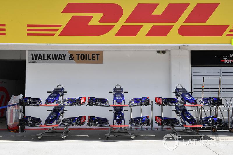 Sayap depan Scuderia Toro Rosso STR13