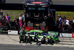 Austin Dillon, Richard Childress Racing, Chevrolet Camaro American Ethanol e15 effettua un pit stop, Sunoco